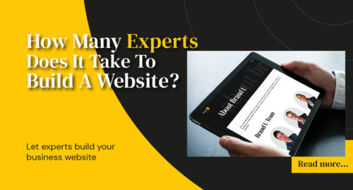Let Experts Build Your Website